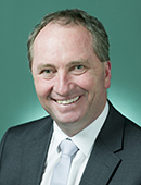 Official portrait of Barnaby Joyce